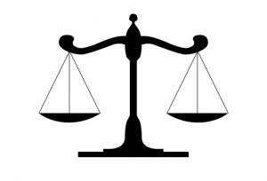 weegschaal jurist